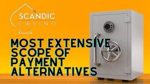Scandic Casino Payment Methods