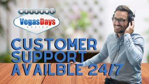 Vegas Day Casino Customer Support